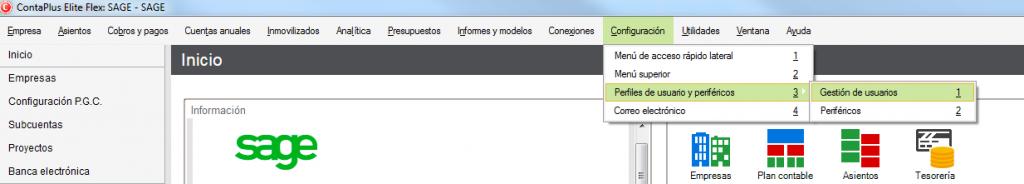 01-Pantalla de acceso al menu gestion de usarios de ContaPlus Flex