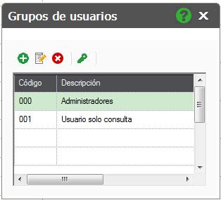 05-Pantalla de alta de grupos de usuarios en ContaPlus Flex