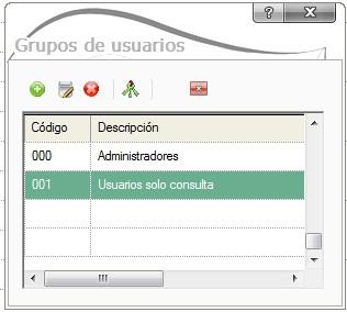 05-Pantalla de alta de grupos de usuarios en ContaPlus