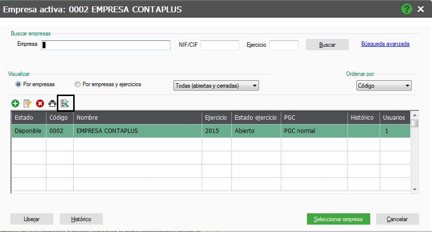 acceso asistente configuración