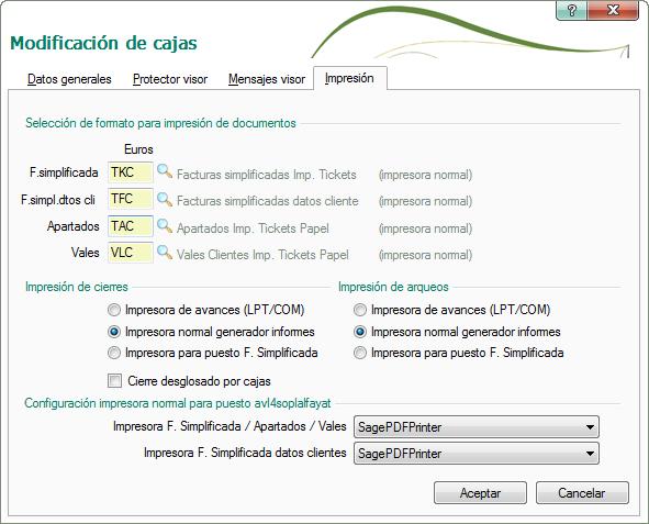 configuracion impresora USB