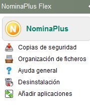 Organizacion de ficheros Panel