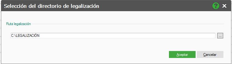 DIRECTORIO LEGALIZACIÓN