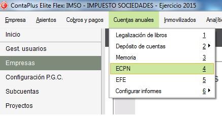 07-Pantalla de acceso al ECPN en ContaPlus Flex