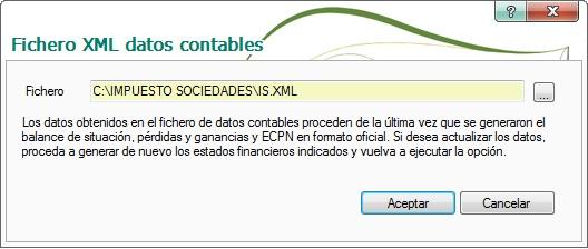 12-Pantalla fichero XML datos contables de ContaPlus