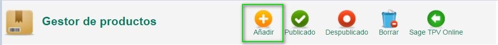 Anadir articulo