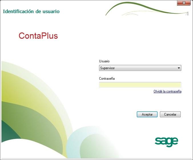 03-Pantalla del identificacion de usuarios de ContaPlus