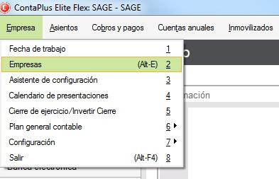 01-pantalla-de-acceso-al-menu-empresas-en-contaplus-flex