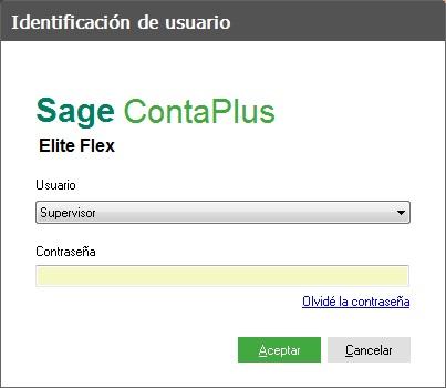 03-Pantalla del identificacion de usuarios de ContaPlus Flex