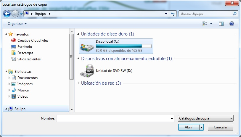 06-Pantalla localizador de copia en windows