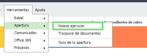 menu_herramientas_apertura_nuevo_ejercicio