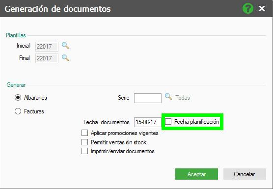 Generación de documentos