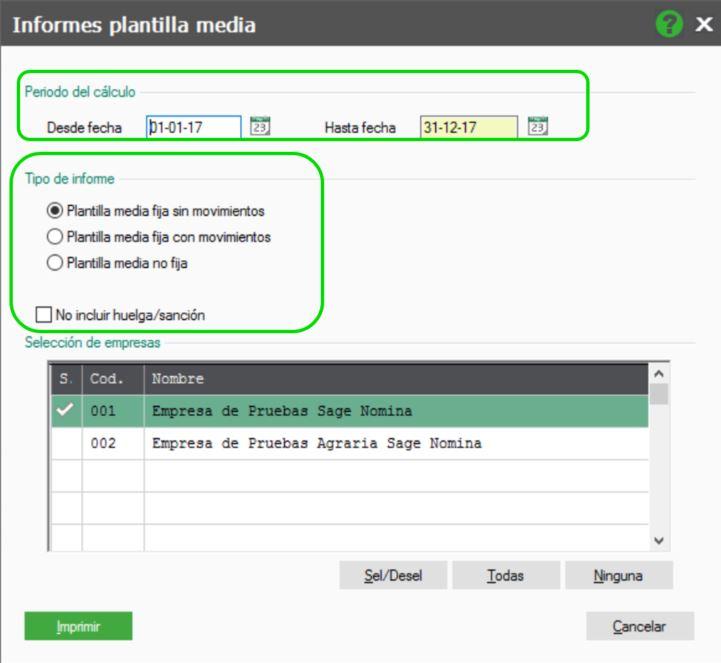 Cómo generar informes de plantilla media en NominaPlus Flex – Sage ...