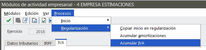 Acumular IVA