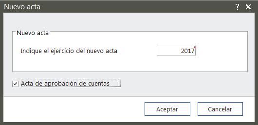 Nuevo Acta